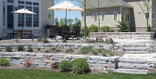 flagstone u0026 wall stone patio town