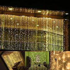 neretva led light window curtain icicle lights 304led linkable
