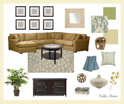 estilo home client design board california living room client design board california living room