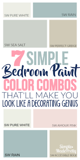 7 amazing bedroom paint color combos that u0027ll make you look like a