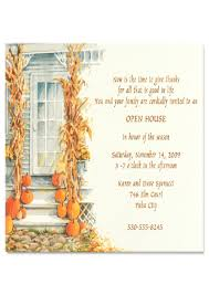 thanksgiving open house invitation wording best images