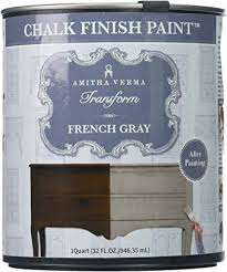 how to paint cabinets fast amitha verma chalk finish paint no prep one coat fast drying diy makeover for cabinets furniture more 1 quart gray