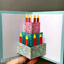 how to make handmade pop up birthday cards 27 best diy birthday cards images on handmade cards