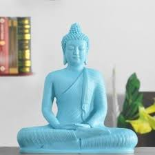 Buddha Home Decor Statues Statue Home Teal Buddha Statue Online Shopping India Home