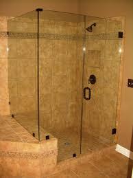 Oil Rubbed Bronze Frameless Shower Door by Frameless Shower Doors Lewis Glass Company
