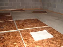 Basement Subfloor Systems - installing a floating subfloor extreme how to