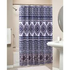 shower curtains medallion shower curtain bathroom pics target