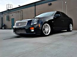 lowered cadillac cts lowered the v h r springs w mm spacers ls1tech camaro and