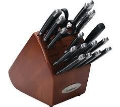 cuisinart kitchen knives cuisinart 17 riveted knife set free shipping