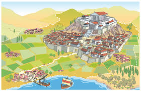 A Map Of Ancient Greece by Ancient Greece