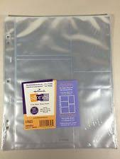 self adhesive photo album refill pages hallmark refill pages ebay