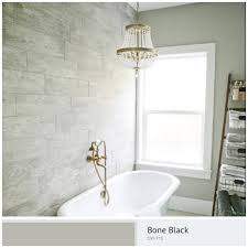 Bathroom Wall Colors Ideas Benjamin Moore Cw 715 Bone Black Paint Color Ideas Tbm