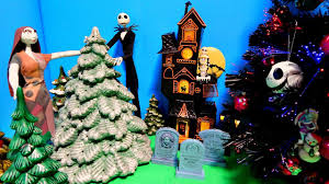 nightmare before tree high ornaments