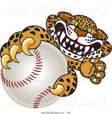 jaguar clipart big cat cartoon vector clipart of a friendly cheetah jaguar or