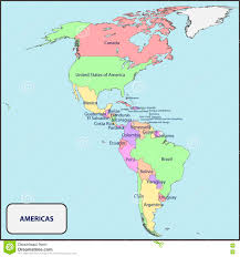Plaza Las Americas Map by Map Of Pan America United States Map Nations Online Project Free