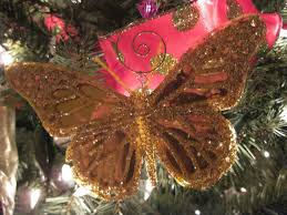 Christmas Tree Butterfly Decorations by Grams Made It Oh Christmas Tree