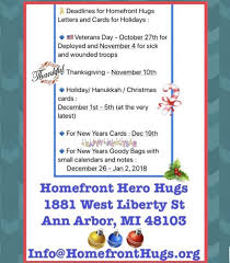 kids and teen page homefront hugs usa