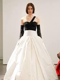black and white wedding dress vera wang vera wang spring bridal