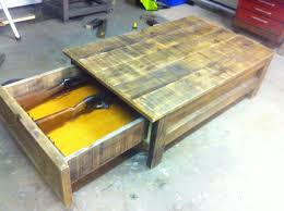 coffee table coffee table gun safe together voguish build diy