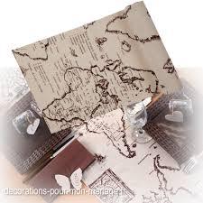decoration table mariage theme voyage menu décoratif passeport theme voyage