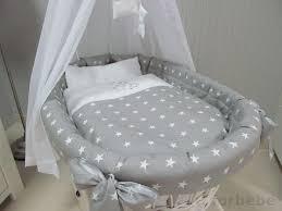 Star Nursery Bedding Sets by Grey Stars Wicker Moses Basket Baby Accessories Uk