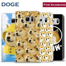 Galaxy Phone Meme - doge meme dog cute mobile shell phone case cover for samsung galaxy