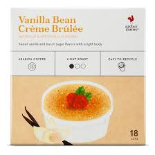 Best Light Roast Coffee Vanilla Bean Crème Brulée Light Roast Coffee Single Serve Pod