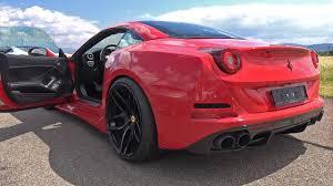 Ferrari California Body Kit - novitec rosso ferrari california t n largo start revs drag