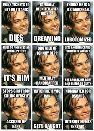 Leo Oscar Meme - bad luck leo humour hilarious and laughter