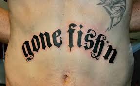 fishing tattoo art 4 ok i u0027m not furious enough swittersb