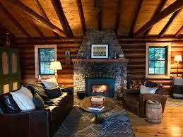 storybook northwoods log cabin on lake supe vrbo