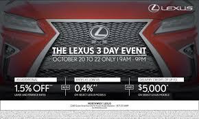 lexus toyota brampton the lexus 3 day event northwest lexus