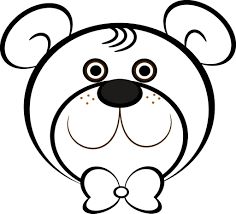 bear head coloring page kids drawing and coloring pages marisa