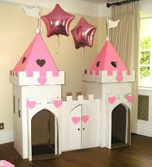 cardboard castle diy plans google search playroom office combo