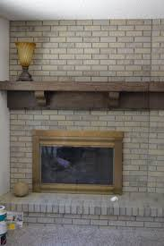 shabby photo gallery paints chalked painted brick fireplace loversiq
