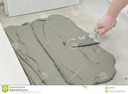 Laying Ceramic Floor Tile Best Laying Tile Floor On Concrete U Flooring Design Image Of