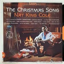 vinyl record nat king cole the christmas song by flamingovinyl on
