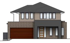 home design compact limestone colour combination for house front