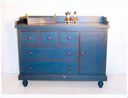Blue Changing Table Baby Changing Dresser