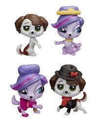 littlest pet shop zoe and phillipe dolls u0026 accessories amazon