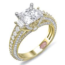 cheap engagement rings princess cut princess cut engagement rings yellow gold princess cut