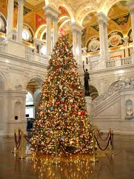 christmas tree library of congress great hall the library u2026 flickr