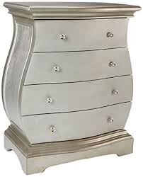 Bombay Chest Nightstand Amazon Com Monarch Veneer Contemporary Bombay Chest Brushed Gold