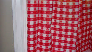 red and white checkered curtains savvy southern style sun