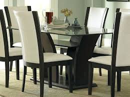 Bases For Glass Dining Room Tables Dining Table Glass Dining Room Table Wood Base Round Glass