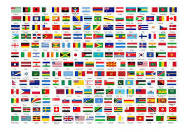 World National Flags With Names Pictures Of Flags Of The World Emaps World