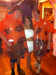 abc party costume ideas for guys ponchos quick and easy abc
