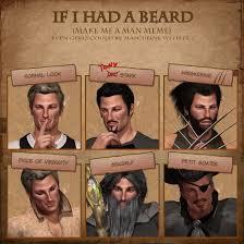 Meme Lady - john did the beard meme by lady winterlace on deviantart