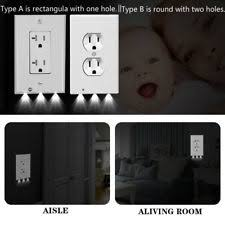 receptacle cover night light night light outlet ebay