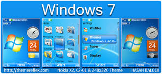 live themes windows 7 windows 7 live theme for nokia x2 c2 01 240 320 themereflex